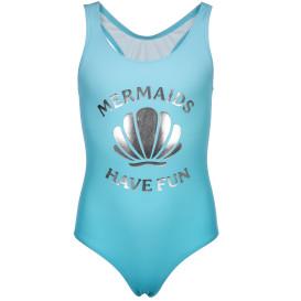 Mädchen Badeanzug mit Glitzerprint