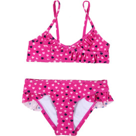 Mädchen Bikini Set mit Alloverprint