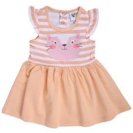 Baby Mädchen Kleid mit Frontprint