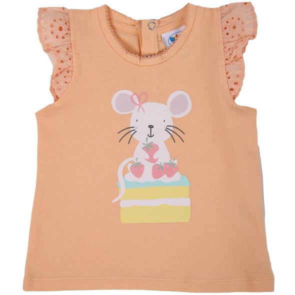 Baby Mädchen Shirt mit Frontprint