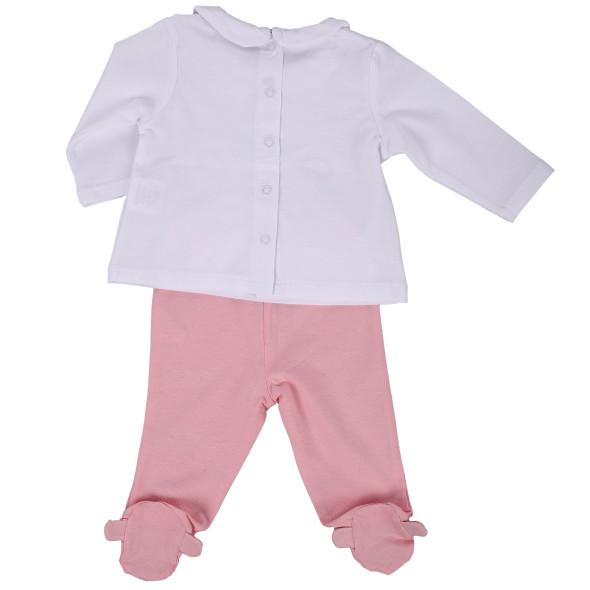 Baby Mädchen Set 2tlg., bestehend aus Longsleeves und Leggings