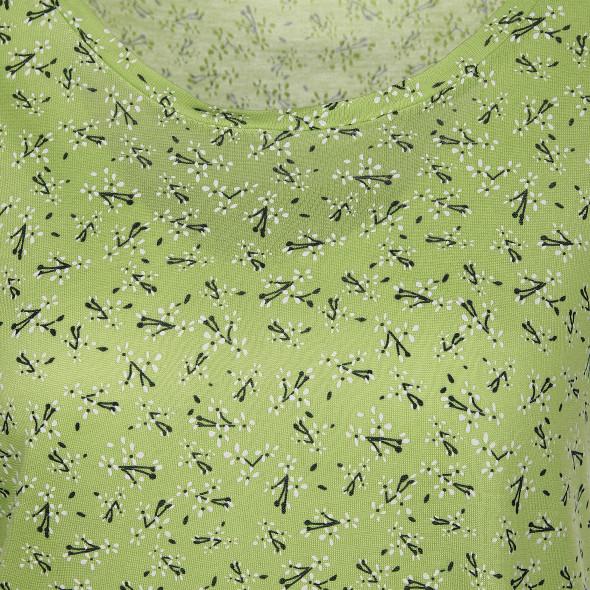 Damen Shirt mit Flügelärmelchen