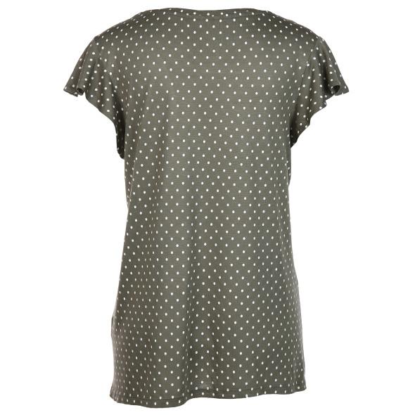 Damen Shirt mit Volantärmeln