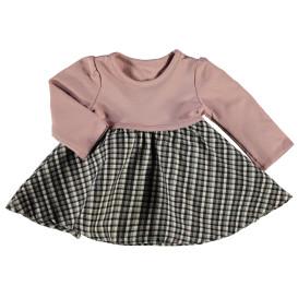 Baby Mädchen Kleid im Karolook