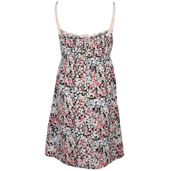 Hailys Teens Kleid mit Häkelbesatz