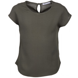 Hailys Shirt mit Tropfenausschnitt