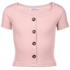 Hailys Shirt mit Zierknöpfen