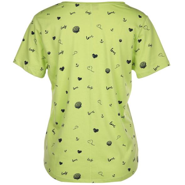 Damen Shirt im Alloverprint