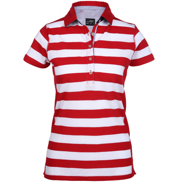 Damen halbarm Poloshirt