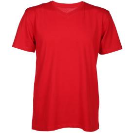 Herren Basic-Shirt mit V-Ausschnitt