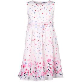 Mädchen Kleid mit floralem Alloveprint