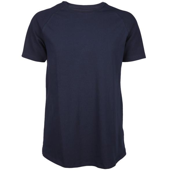 Herren Shirt mit Rippstrick-Ärmeln