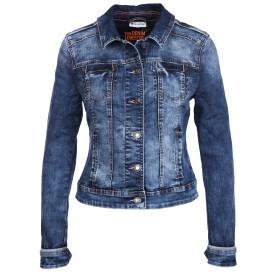 Damen Jeansjacke in kurzer Form