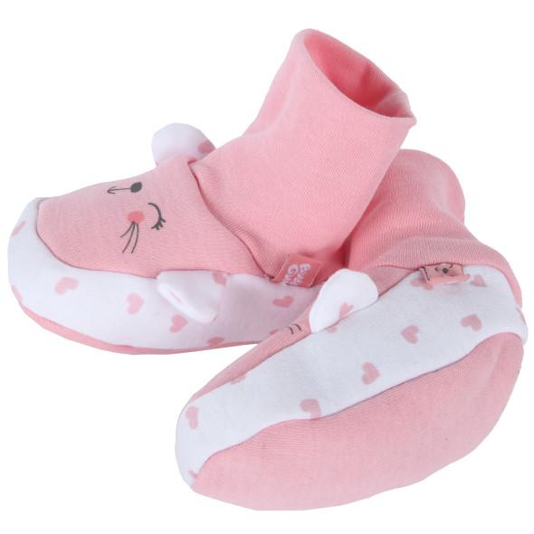Baby Mädchen Hausschuhe mit Öhrchen