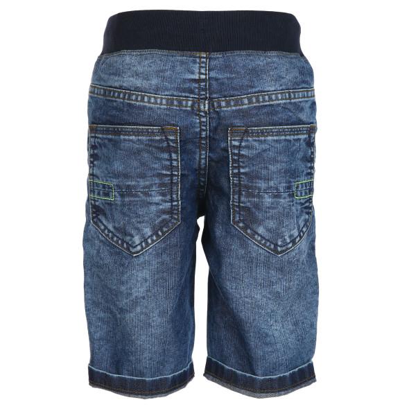Jungen Jeans Bermuda mit Gummizugbund