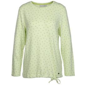 Damen Feinstrickshirt mit Minimalprint