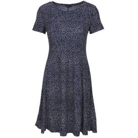 Damen Jerseykleid mit Alloverprint