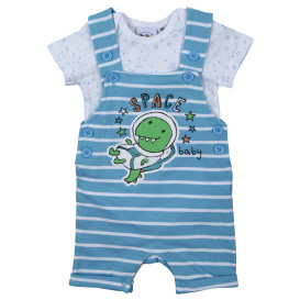Baby Set, 2tlg. best. aus Shirt und Body