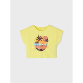 name it NKFVILMA CAPSL CROP T Shirt