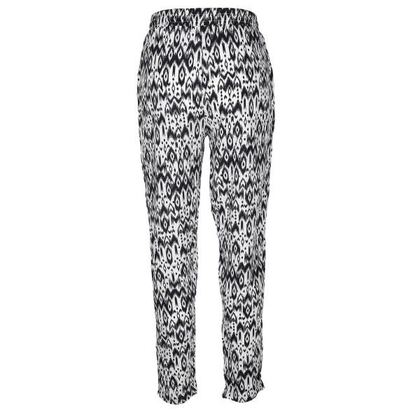 Damen Hose in 3/4 Länge mit Alloverprint