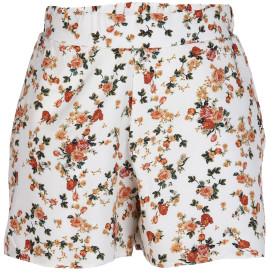 Damen Highwaist Shorts im Blümchenprint