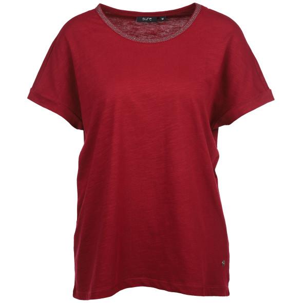Damen Shirt mit Glitzersteinchen