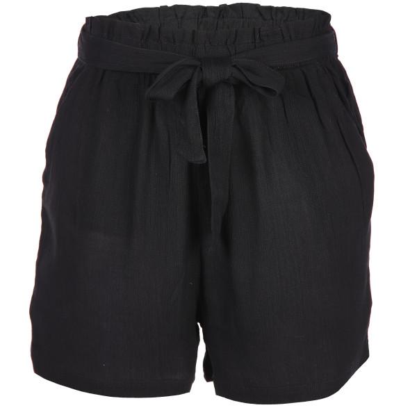 Damen Shorts mit Bindegürtel