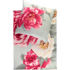 Biberbettwäsche mit floralem Print, 155x220cm