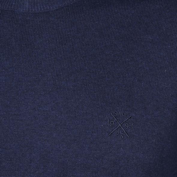 Herren Pullover unifarben