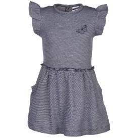 Mädchenkleid mit Flügelärmelchen