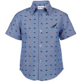 Jungen Hemd mit Animalprint