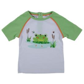 Baby Jungen Shirt mit Froschmotiv