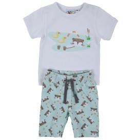 Baby Jungen 2er Set bestehend aus Shirt und kurzer Hose