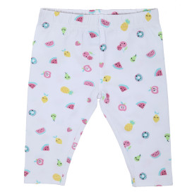 Baby Mädchen Leggings mit Minimalprint