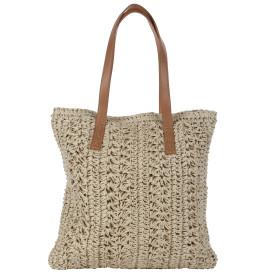 Damen Strandtasche in eckiger Form