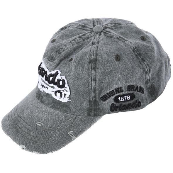 Herren Basecap in Used Optik