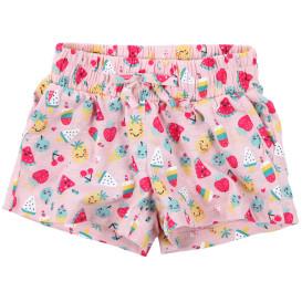 Mädchen Shorts mit Alloverprint
