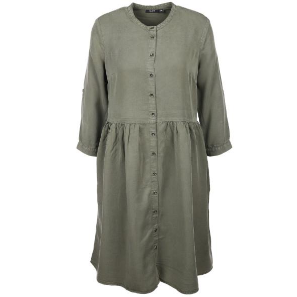 Damen Kleid mit Maokragen