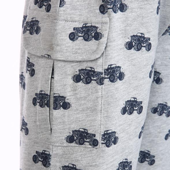 Jungen Sweatshirt Hose mit Alloverprint