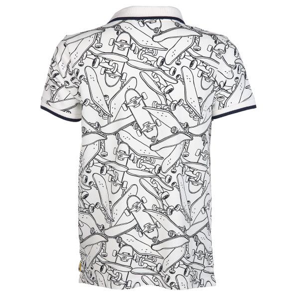 Jungen Poloshirt mit Alloverprint
