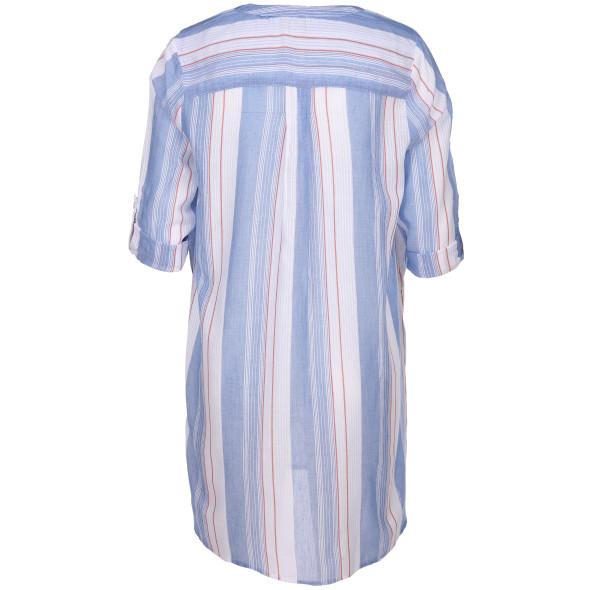 Damen Tunikabluse im Streifen-Design