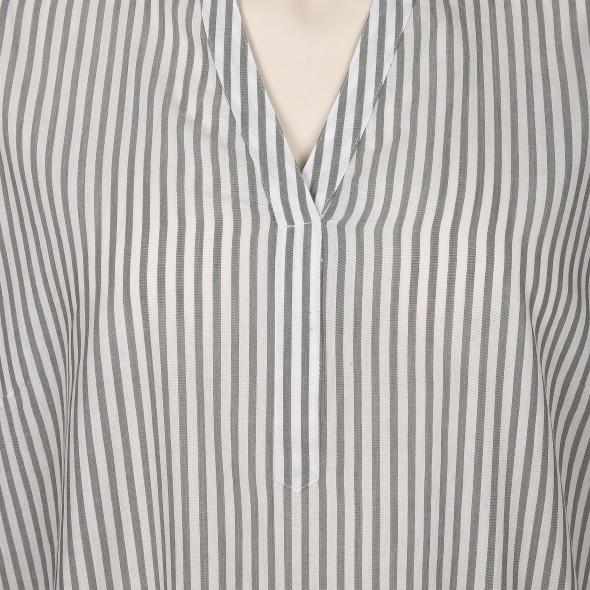 Große Größen Bluse mit Streifen
