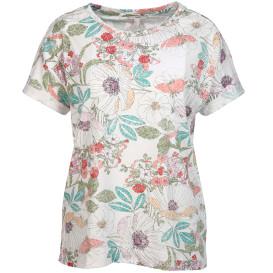 Damen Shirt mit floralem Alloverprint