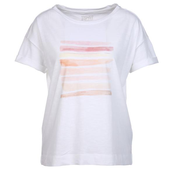 Damen Shirt mit Farbprint