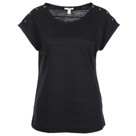 Damen Shirt mit raffiniertem Schulterbereich