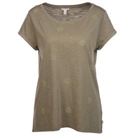 Damen Shirt mit Lochstickerei