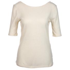 Damen Shirt mit tiefem Rückenausschnitt