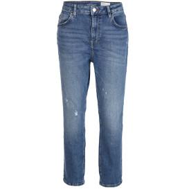 Damen Jeans im Boyfriend-Style mit Abnutzungsdetails