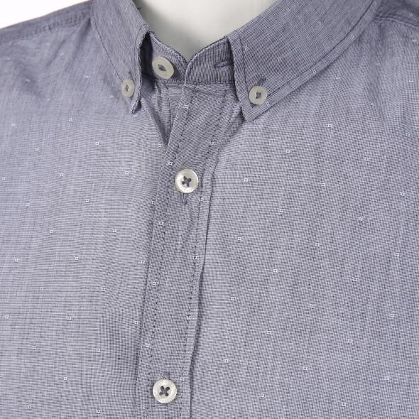 Herren Freizeithemd im Jeanslook