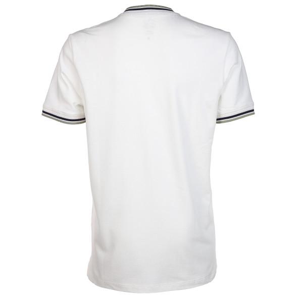 Herren Poloshirt mit farbigem Abschluss